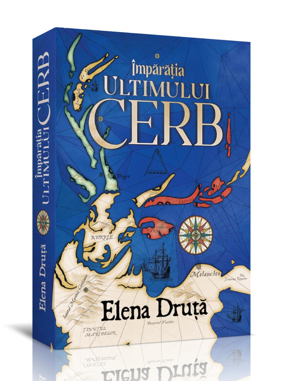 Împărăția Ultimului Cerb – Elena Druță – recenzie Ups blog